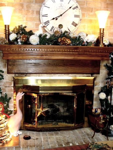 C fireplace