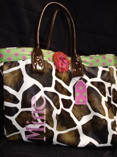 Giraffe bag 2