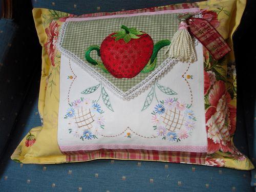 A pillow tassel
